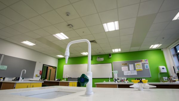 Thermatile Plus radiant panels at Crown Hills School, Leicester image