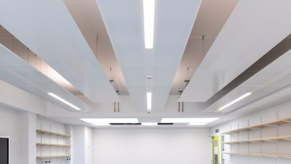 Thermatile Plus radiant panels at St Helens School, London image