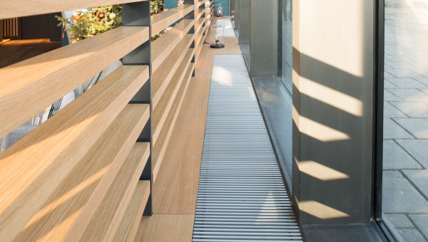 SPC Metropolitan trench heaters at Vantage Point, London image