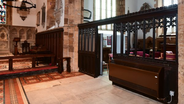 Belgravia Supreme fan convectors at St Giles Church, Northampton image